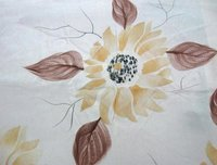 Hand Printing Silk Fabric