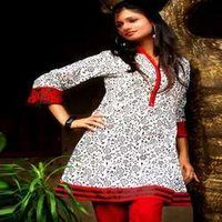 Cotton Kurti With Embroidery