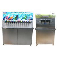 Soda Fountain Machine With Storage