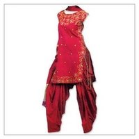 Ladies Cotton Patiala Suits