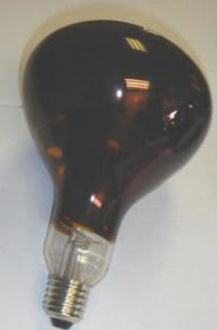 Hard Glass Infrared Red Lamps