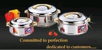 Insulated Stainless Steel Hot Pots