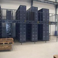 2 Tier And Multi Tier Slotted Angle Racking System