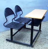Two Seater Perforated Desks