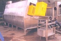 Slanting Type Crate Washer for Non-perforated Crates