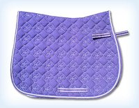 Cotton Fabric Elegant Saddle Pads