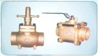 Refrigerant Line Angle And Globe Valves