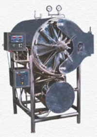 Cylindrical Type Autoclave