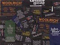 Woven Taffeta Black Labels