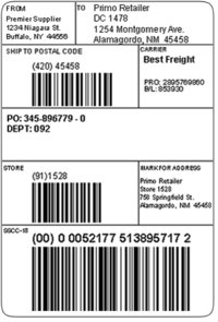 Printed Compliance Labels