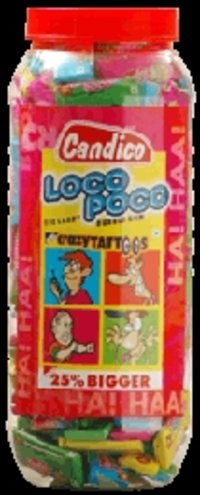 Delicious Loco Poco Bubble Gums