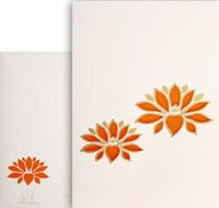Offwhite Color Wedding Cards