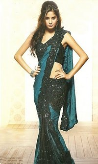 Fancy Bollywood Style Saree