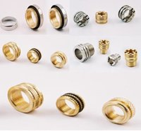 Brass Inserts, Brass Moulding Inserts, Brass Threaded Inserts