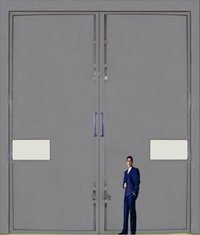 Industrial Plain Door