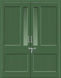 Two Leaf Swing Door