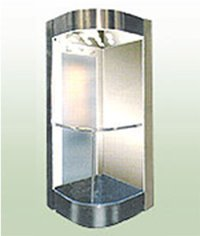 Mild Steel Capsule Type Lift Cabins