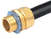 Brass Male Connector, Brass Conduit Fittings