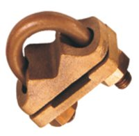 Brass U Bolt Rod Clamp, Brass Ground U Bolt Clamp 