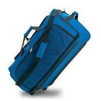 Cactus Blue Leather Travel Bag