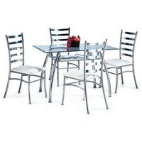 Steel Dinning Table Set