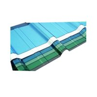 PC Corrugated Trapezodial Sheets