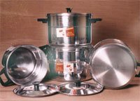 Aluminium Elegant Stock Pots