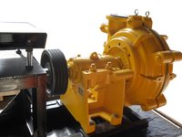 Wa Cast Iron/Rubber Lined Slurry Pump