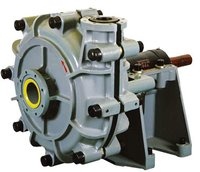 WH Heavy Duty High Head Lined Slurry Pumps