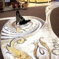 White Sea Shell Flooring