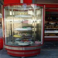 Revolving Cake Display Counter