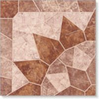 Geo Dark Brown Tiles