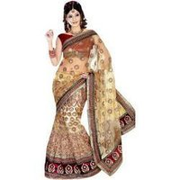 Embroidered Velvet Sarees