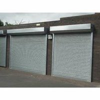 Galvanize Double Coated Rolling Shutters