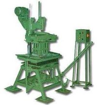 Hand Operated Paver And Concrete Block Making Machine