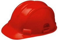Red Colored Safety Helmet