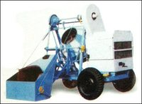 Concrete Mixer With Wire Rope Type Hopper