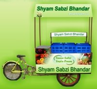 Fruit And Vegetable Tricycle Cart