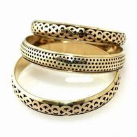 Handmade Brass Bangle Bracelets