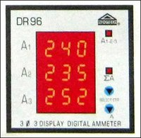 3 Display Digital Ammeter