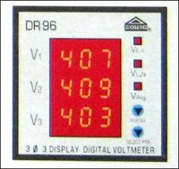 3 Display Digital Voltmeter
