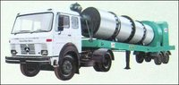Mobile Hot Type Asphalt Drum Mix Plant