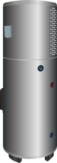 Air In One Heat Pump (Stainless Steel)