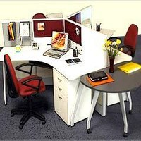 Designer Office Workstation