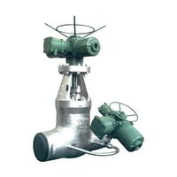 Class 1500 Actuated Gate Valve With Actuated By Pass