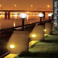 Solar Post Cap Lights