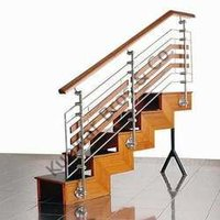 Wooden Combination Ss Staircase