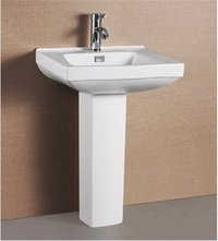 Ceramics Pedestal Wash Basin