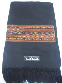 Black Kadai Shawls