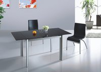 Extension Glass Dinner Table - 922
